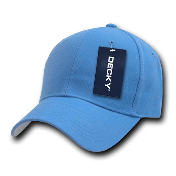 Decky 402 Fitted Cap - Sky - HIT A Double