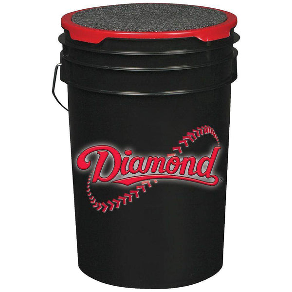 Diamond Ball Bucket - Black - HIT A Double
