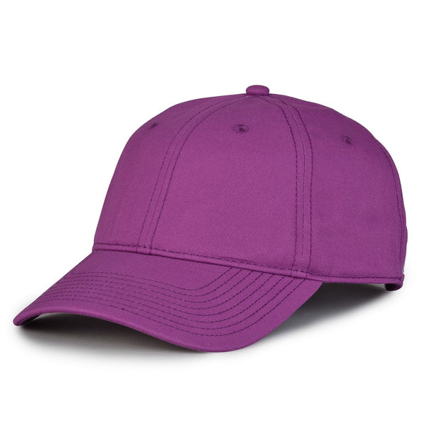 The Game GB210 Classic Relaxed Garment Washed Twill Cap - Dragonfruit