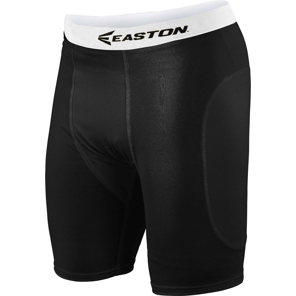 Easton Basic Sliding Shorts A164048 Adult Black - HIT A Double
