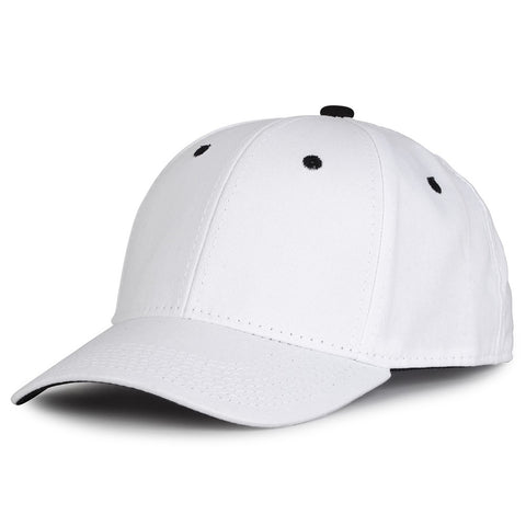 The Game GB2016 White Snapback Cotton Twill Cap - White Black - HIT A Double