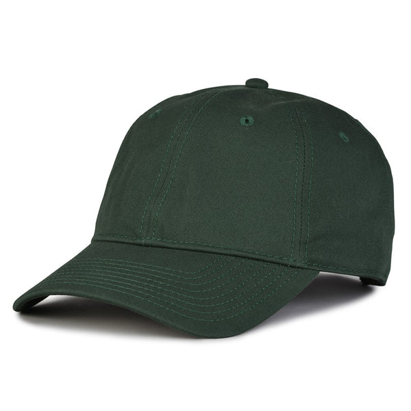 The Game GB210 Classic Relaxed Garment Washed Twill Cap - Dark Green