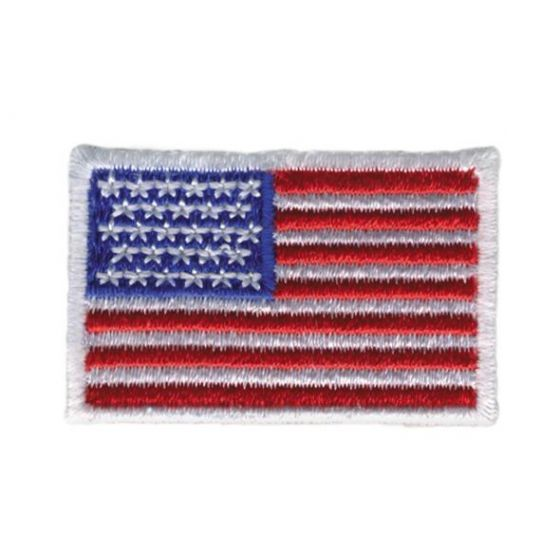 "OC Sports US Flag Patch 1 1/2"" x 1"" - Small"