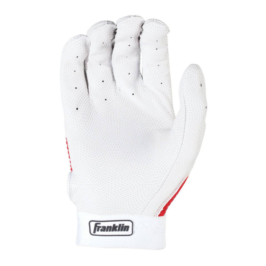 Franklin Pro Classic Youth Batting Gloves - Pearl Red - HIT A Double
