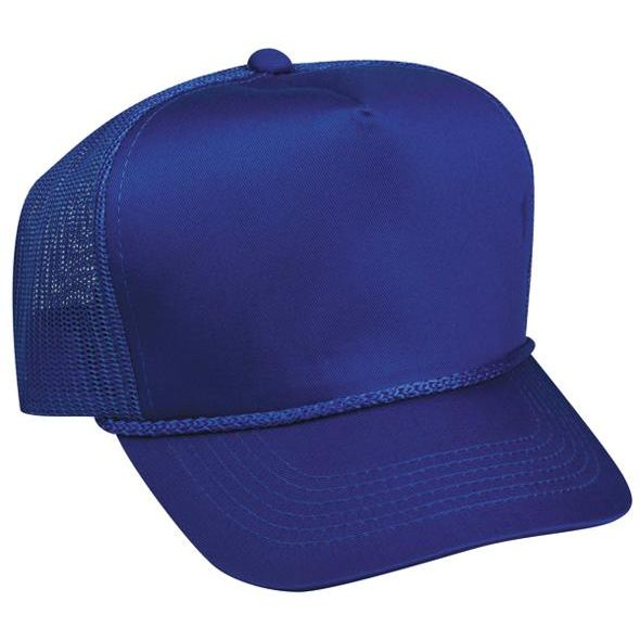 OC Sports GL-155 Adjustable Mesh Back Cap - Royal