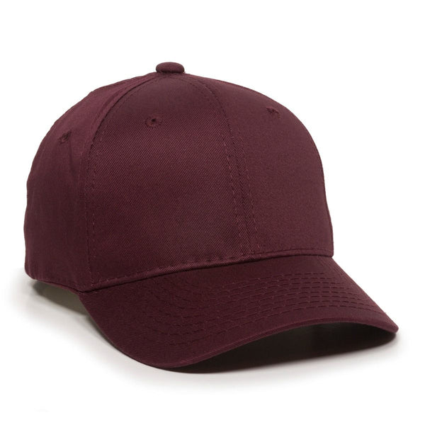 OC Sports GL-271 Team Adjustable Custom Baseball Caps - Maroon