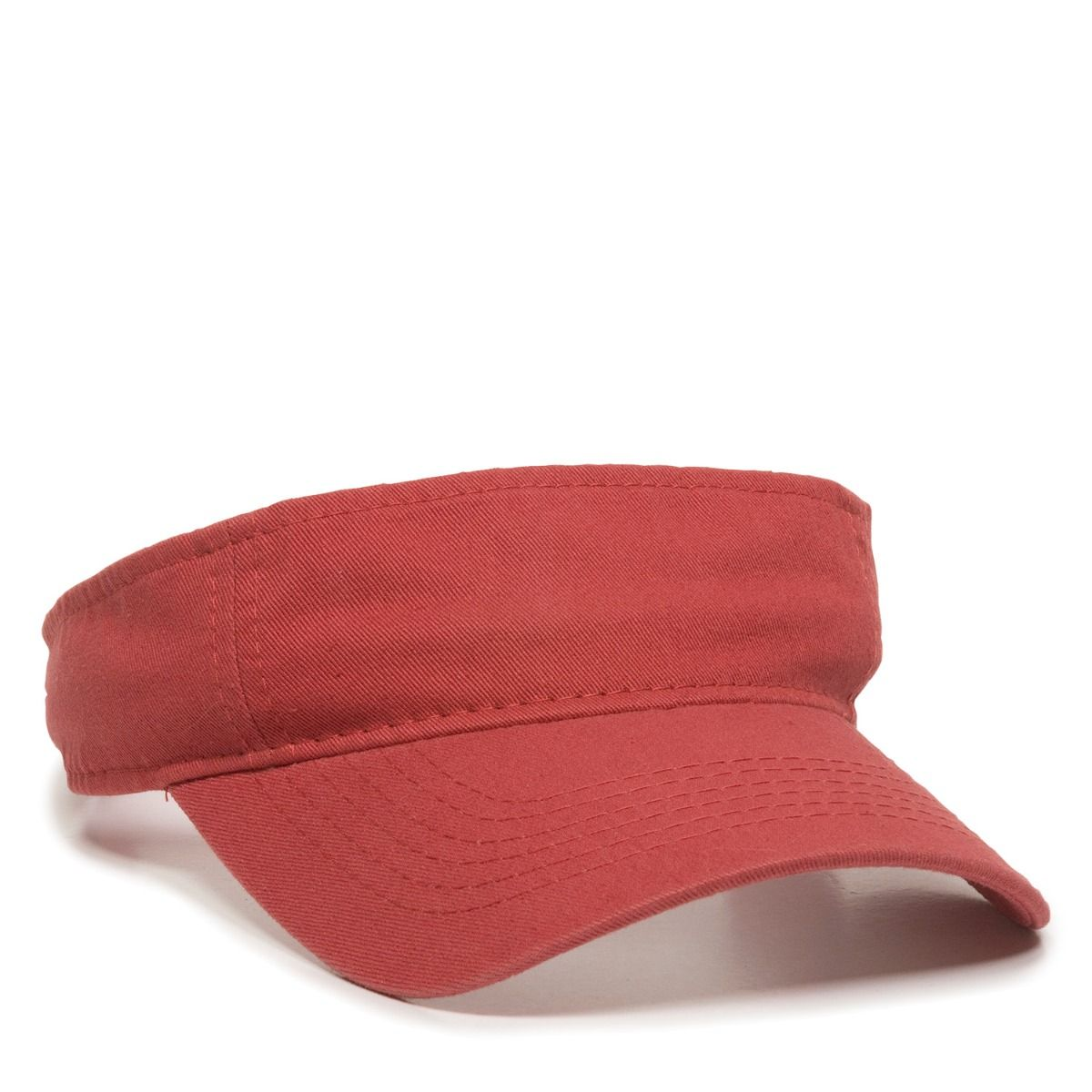 OC Sports GWTV-100  Adjustable Garment Washed Twill Visors - Nantucket - HIT A Double