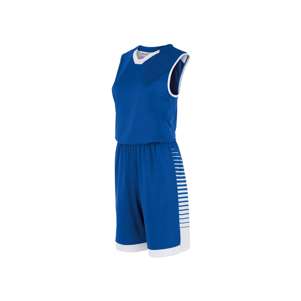 02eb9459a Holloway 224370 Ladies  Arc Jersey - Royal White – HIT A Double