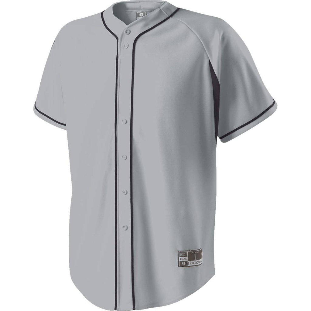 Holloway 221011 Ignite Jersey - Blue Gray Navy - HIT A Double