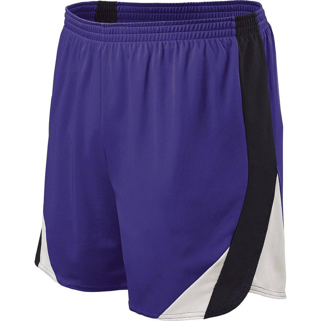 Holloway 221041 Approach Short - Purple Black White