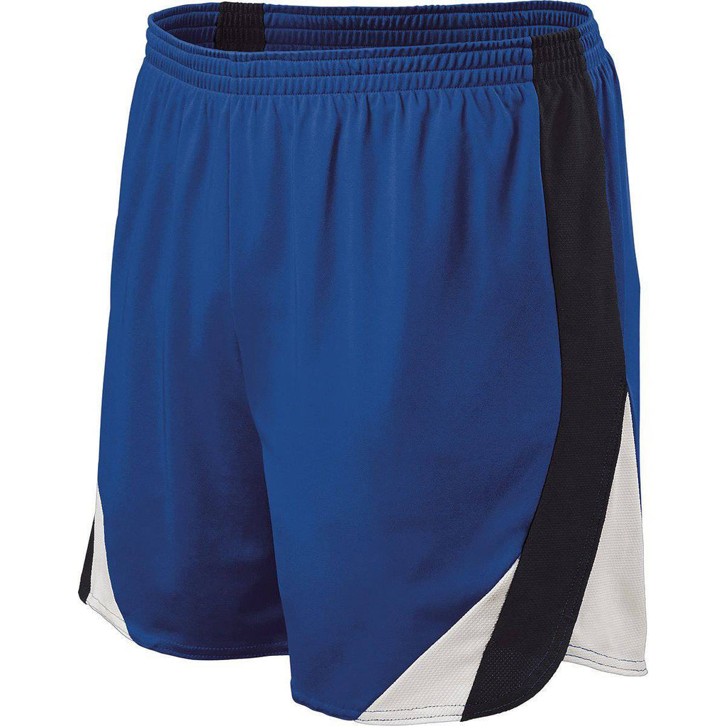 Holloway 221041 Approach Short - Royal Black White - HIT A Double