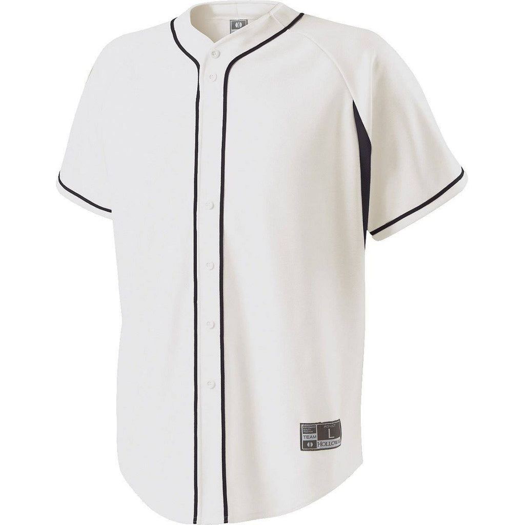 Holloway 221211 Youth Ignite Jersey - White Black - HIT A Double