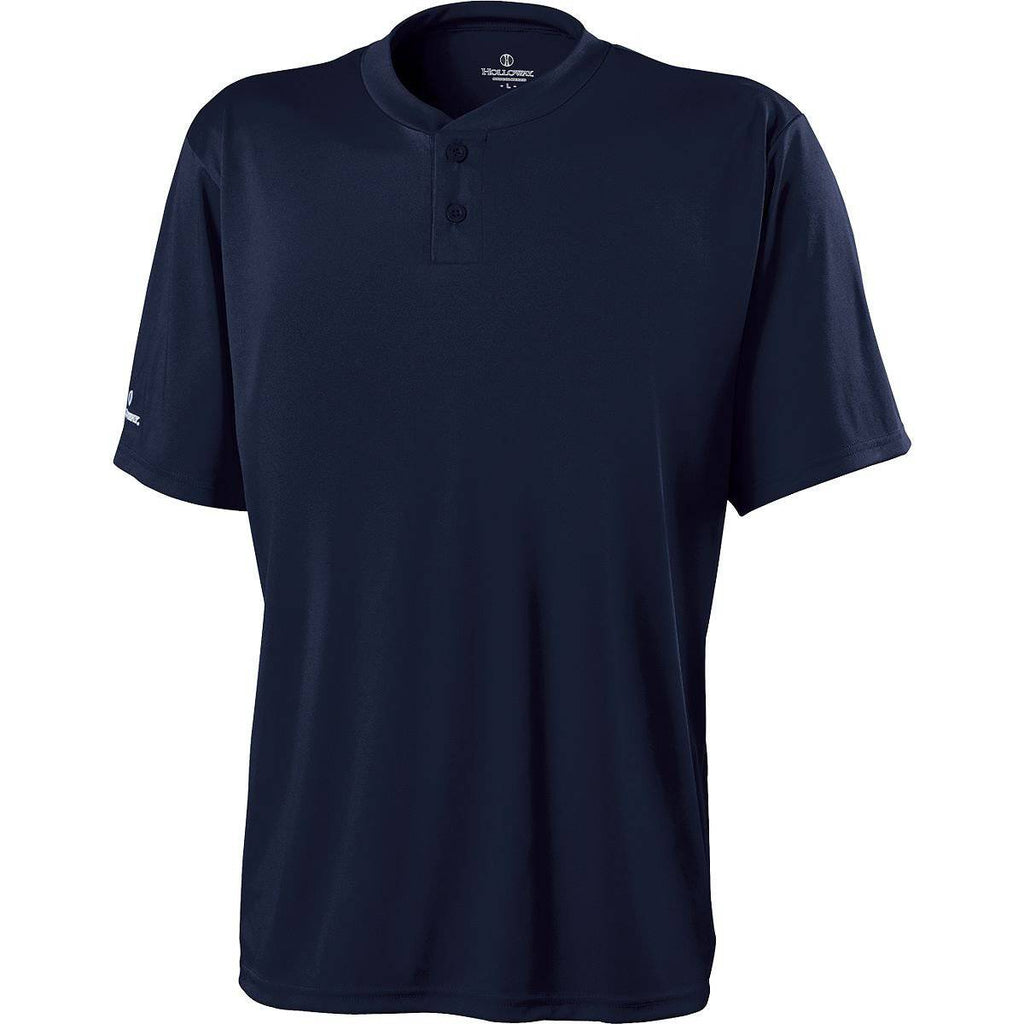 Holloway 222263 Youth Streak Shirt - True Navy - HIT A Double