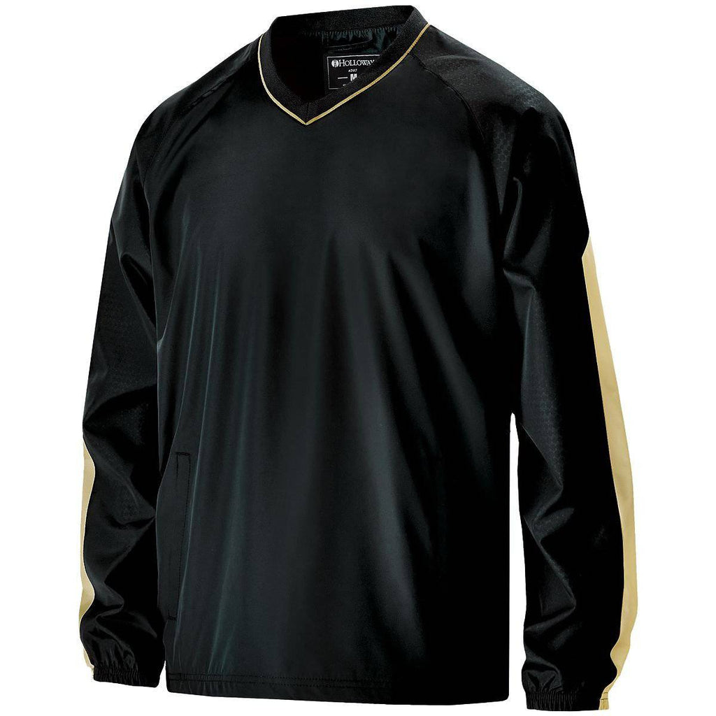 Holloway 229019 Bionic Windshirt - Black Vegas Gold - HIT A Double