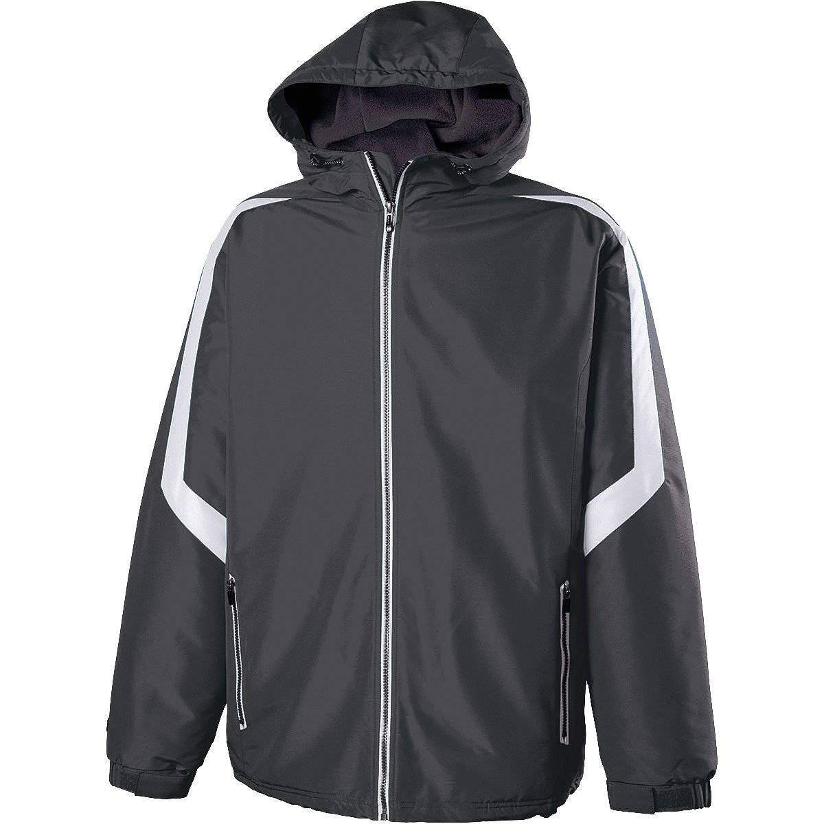 Holloway 229059 Charger Jacket - Carbon White