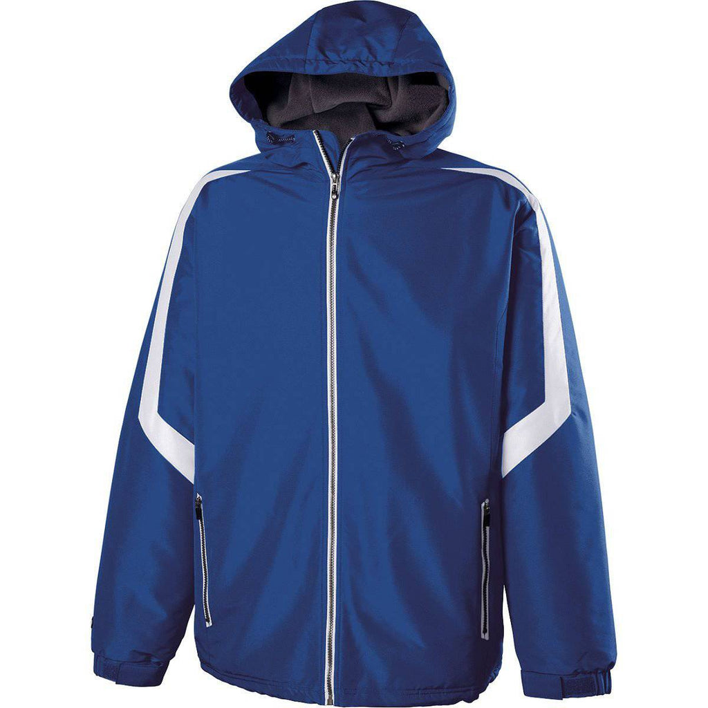 Holloway 229059 Charger Jacket - Royal White - HIT A Double