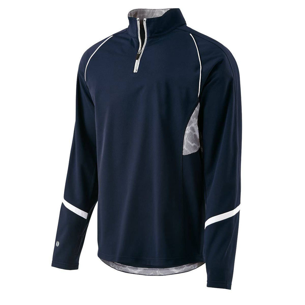 Holloway 229124 Tenacity Pullover - Navy Gray Print - HIT A Double