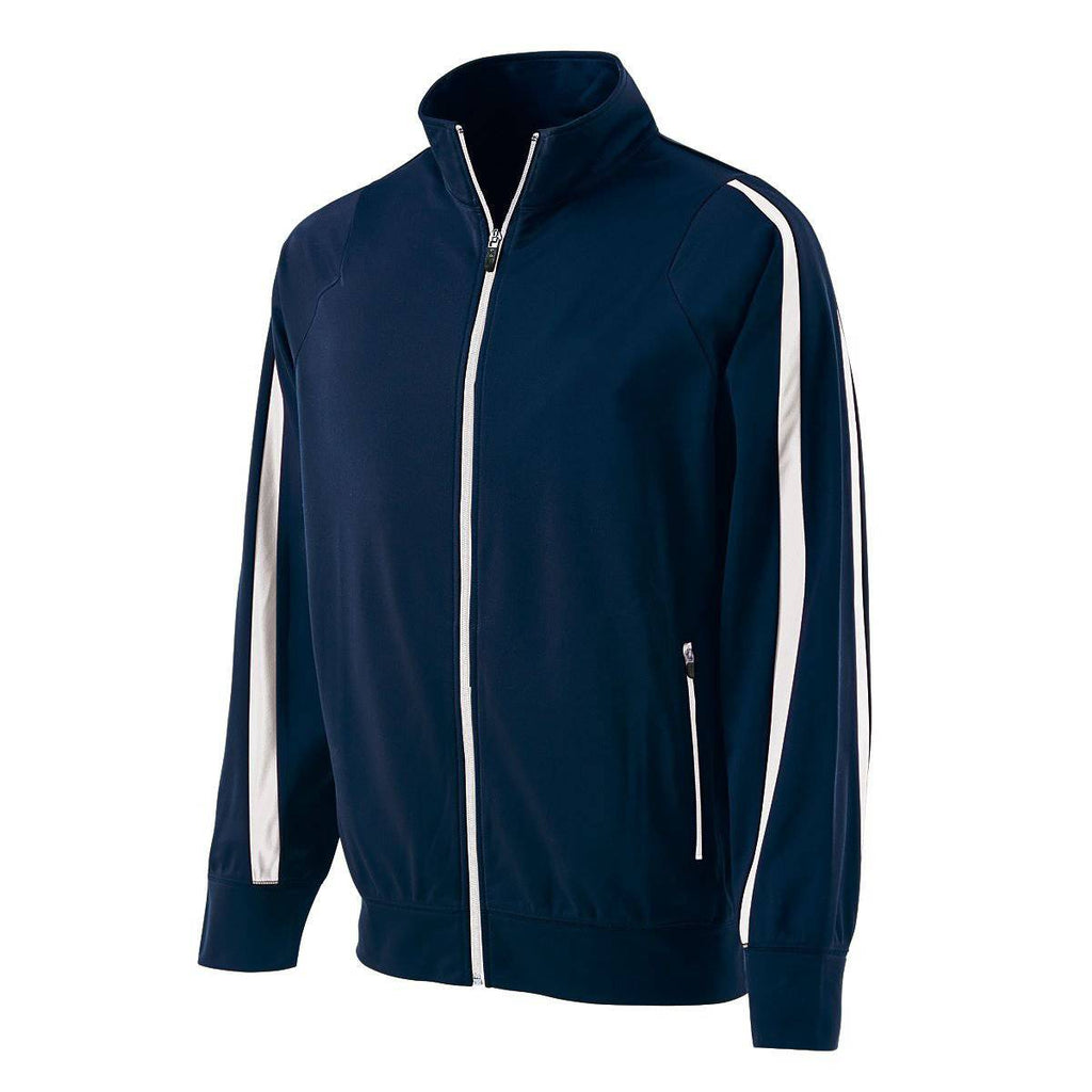 Holloway 229142 Determination Jacket - Navy White - HIT A Double