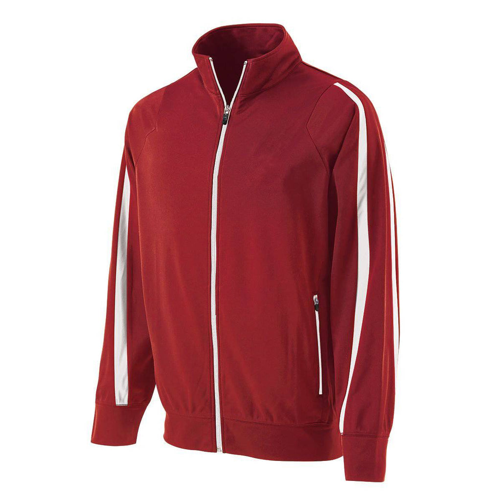 Holloway 229142 Determination Jacket - Scarlet White - HIT A Double