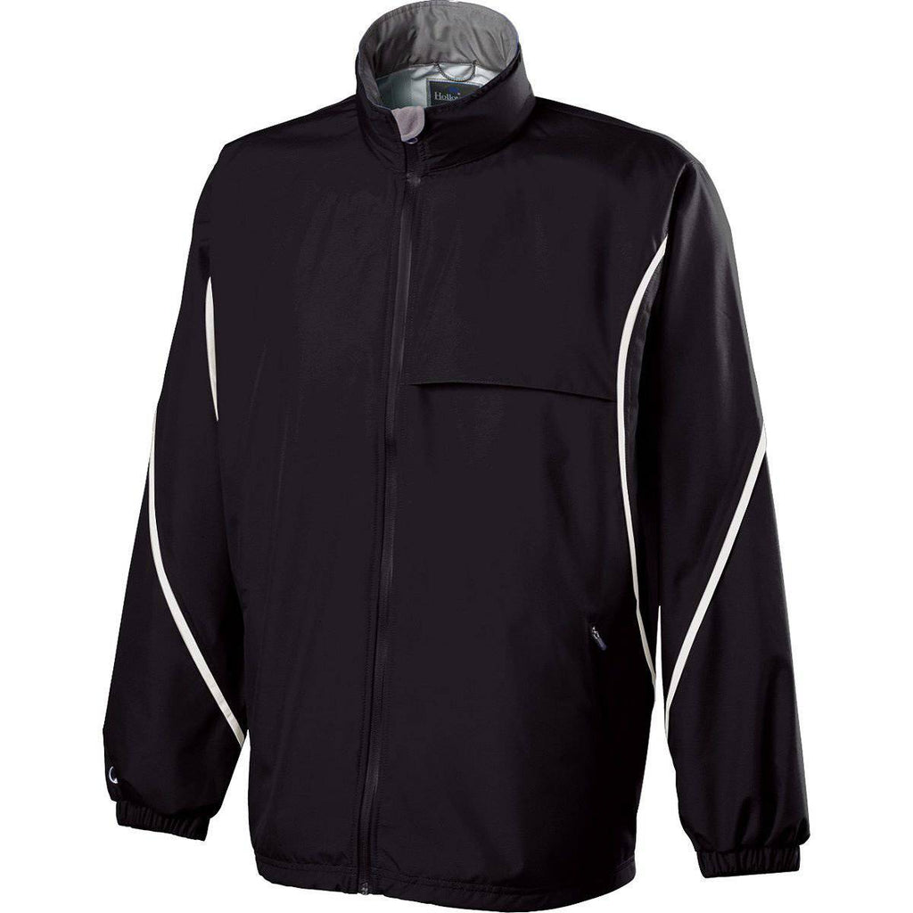 Holloway 229159 Circulate Jacket - Black White - HIT A Double