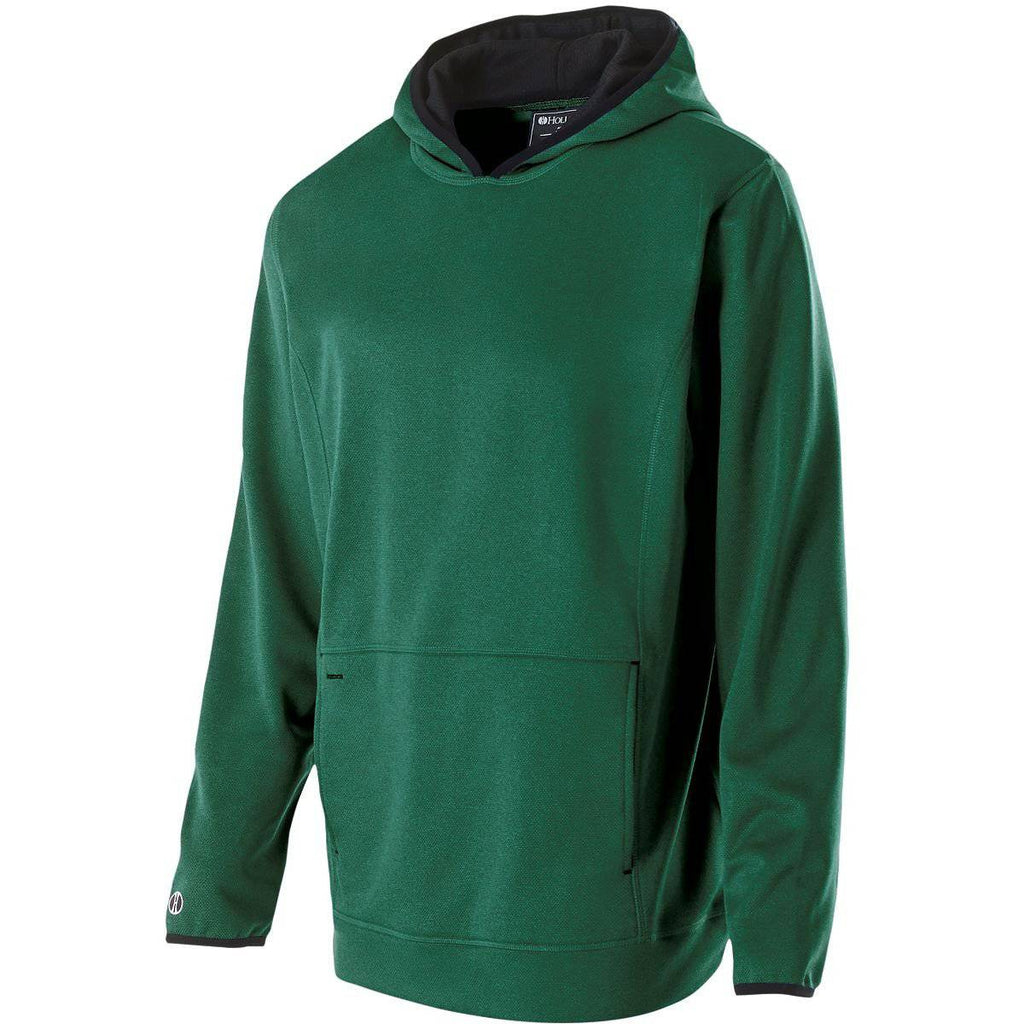 Holloway 229175 Artillery Hoodie - Forest Heather - HIT A Double
