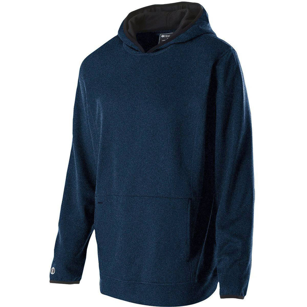 Holloway 229175 Artillery Hoodie - Navy Heather - HIT A Double