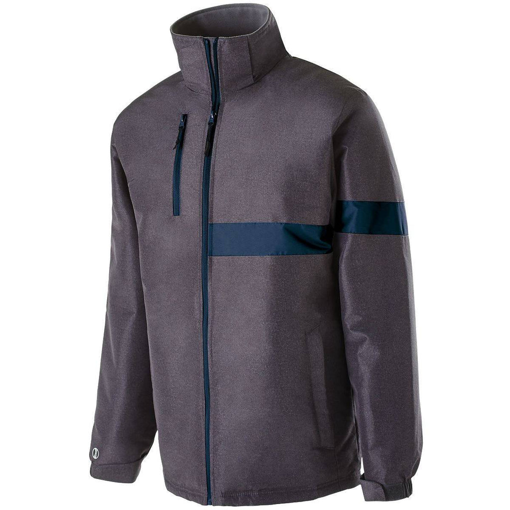 Holloway 229189 Raider Jacket - Carbon Print Navy - HIT A Double