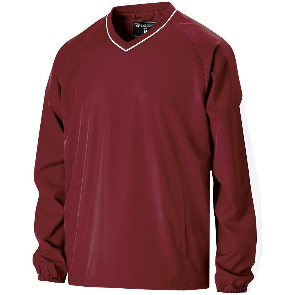 Holloway 229219 Youth Bionic Windshirt - Cardinal White - HIT A Double