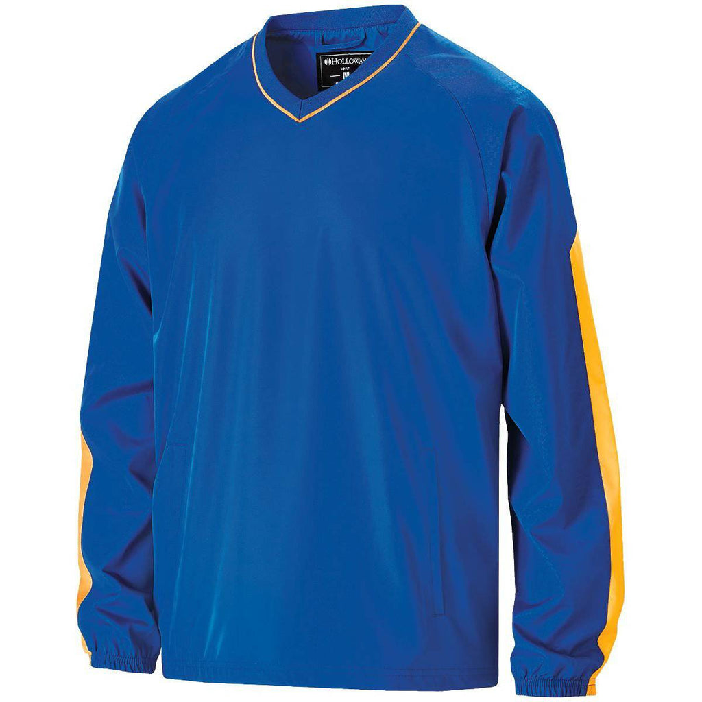 Holloway 229219 Youth Bionic Windshirt - Royal Light Gold - HIT A Double