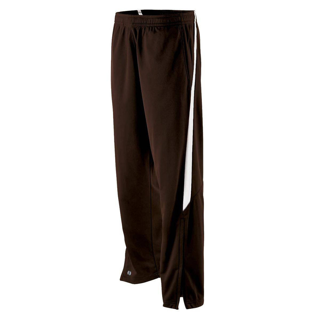 Holloway 229243 Youth Determination Pant - Brown White - HIT A Double