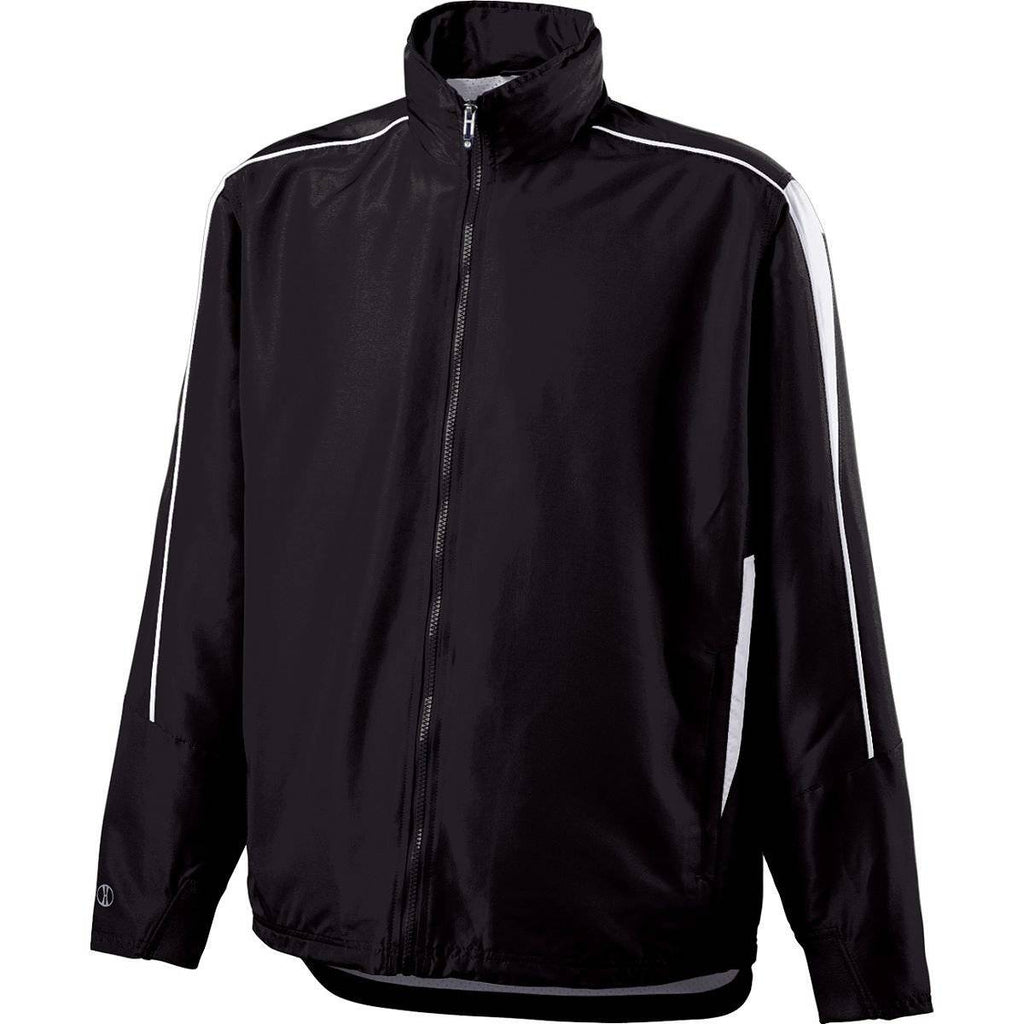 Holloway 229262 Youth Aggression Jacket - Black White - HIT A Double