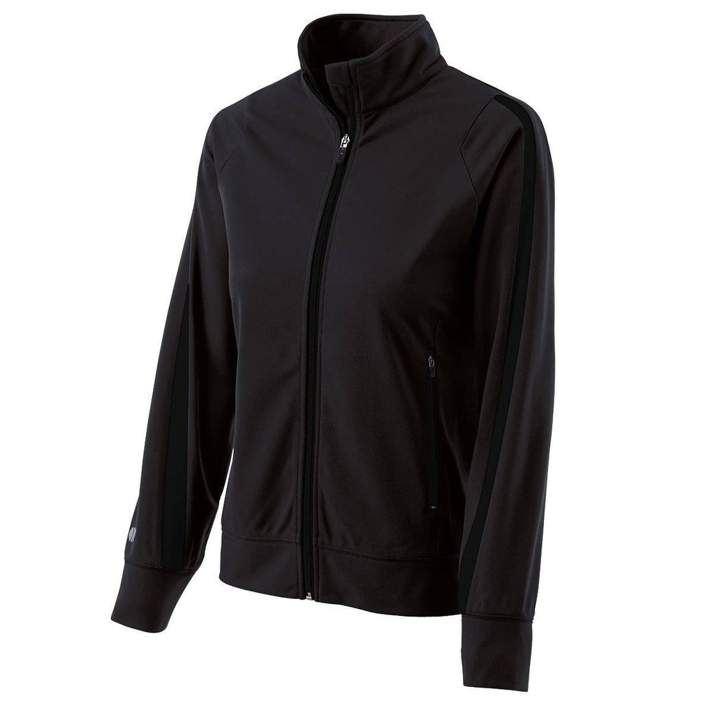 Holloway 229342 Ladies Determination Jacket - Black Black - HIT A Double