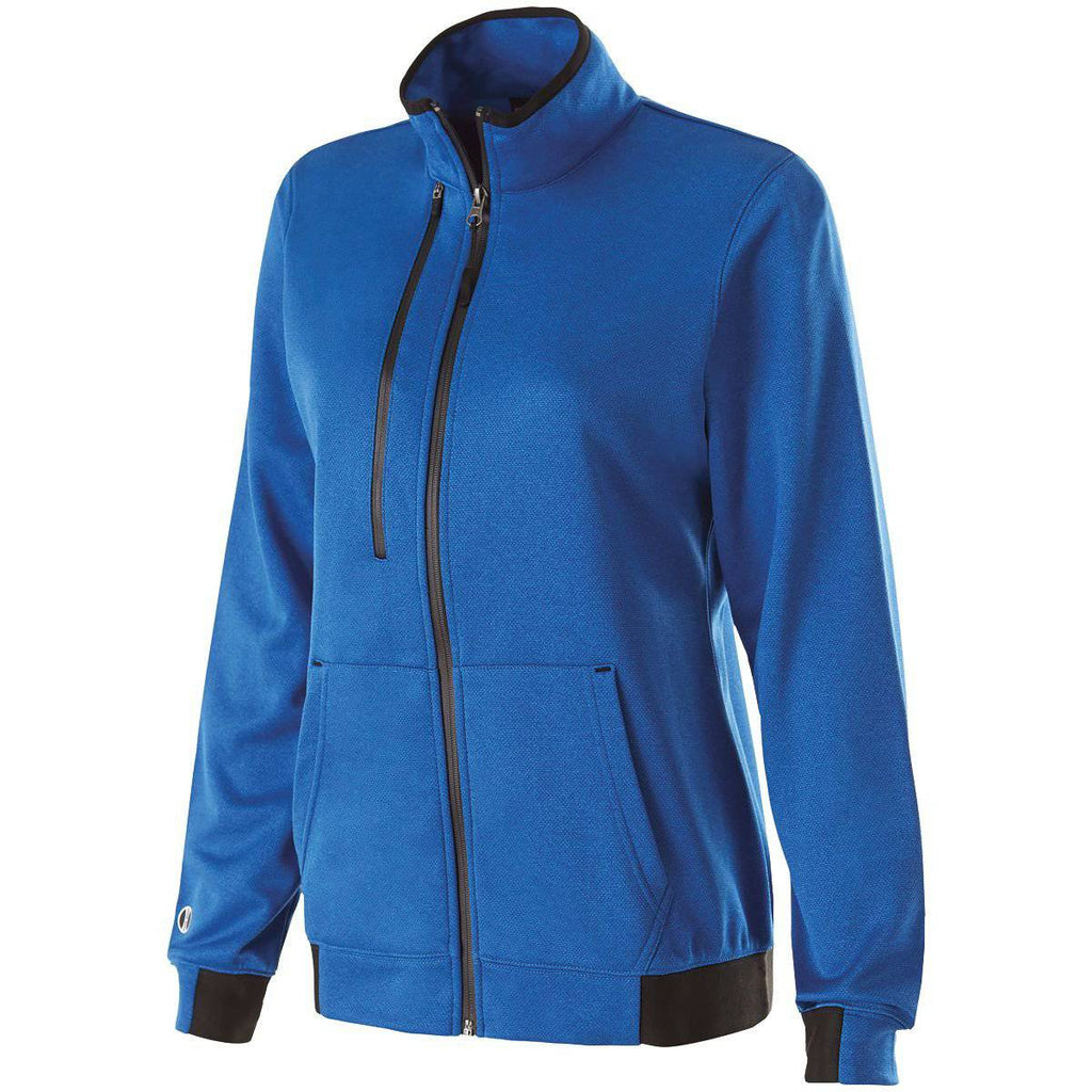 Holloway 229366 Ladies Artillery Jacket - Royal Heather - HIT A Double