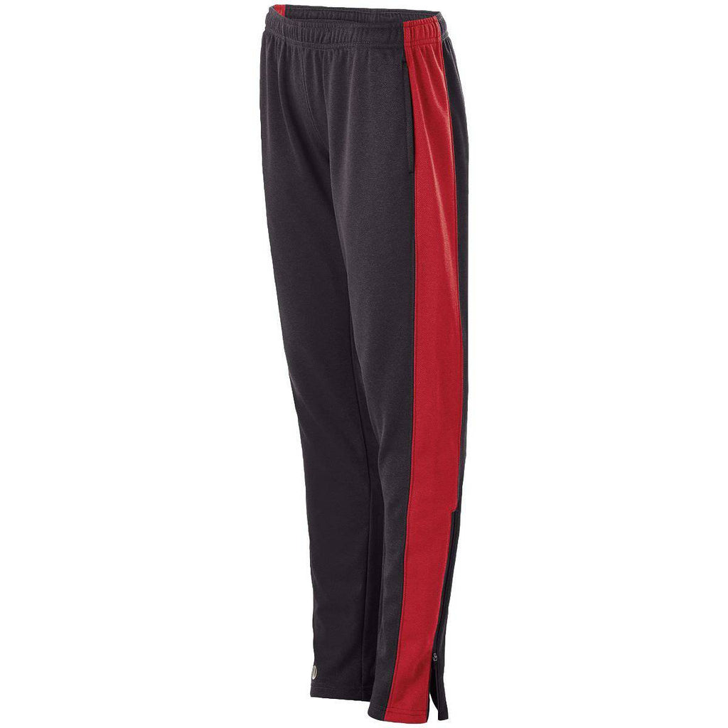 Holloway 229373 Ladies Artillery Pant - Black Heather Scarlet Heather - HIT A Double