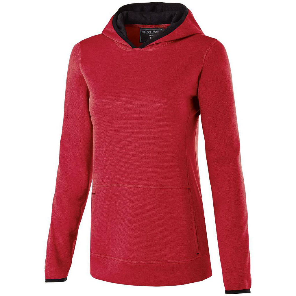 Holloway 229375 Ladies Artillery Hoodie - Scarlet Heather