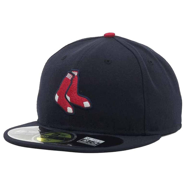 New Era MLB Authentic Cap Boston Red Sox On-Field Alternate Navy - HIT A Double