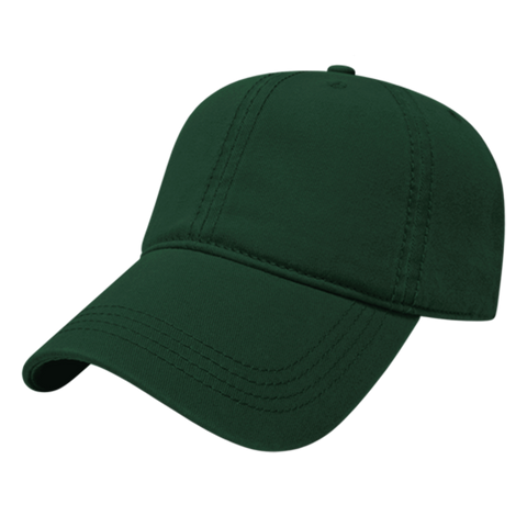 Cap America I1002-Relaxed Golf Cap - Forest Green