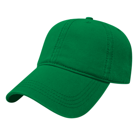 Cap America I1002-Relaxed Golf Cap - Kelly Green