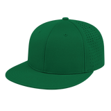 Cap America i8503 Flexfit Perforated Performance Cap - Dark Green - HIT A Double