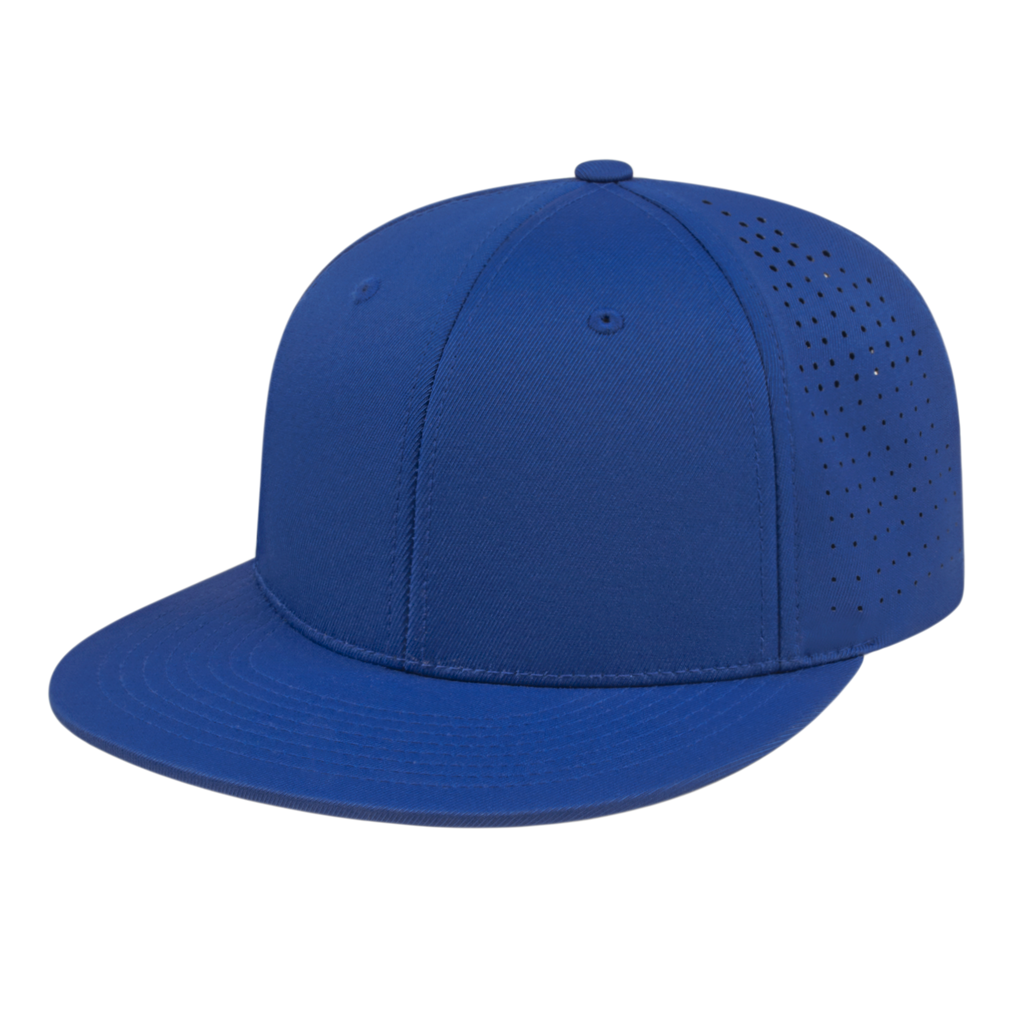 Cap America i8503 Flexfit Perforated Performance Cap - Royal - HIT A Double