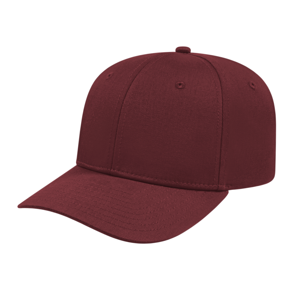 Cap America i8505 Original Poly/Cotton Snap Back Cap - Maroon - HIT A Double