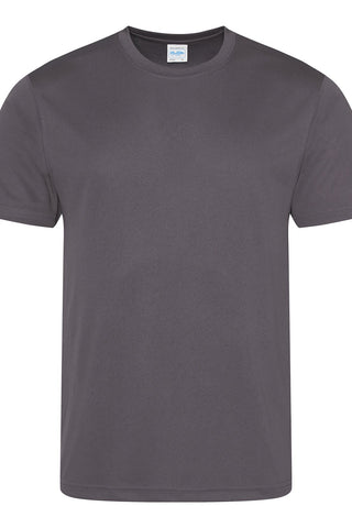 Just Cool JCA001 Cool Tee - Charcoal