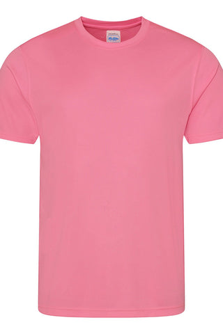 Just Cool JCA001 Cool Tee - Electric Pink