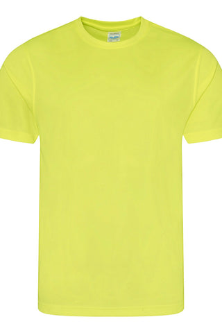 Just Cool JCA001 Cool Tee - Electric Yellow