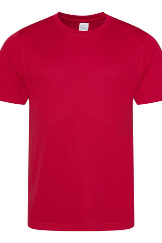 Just Cool JCA001 Cool Tee - Fire Red