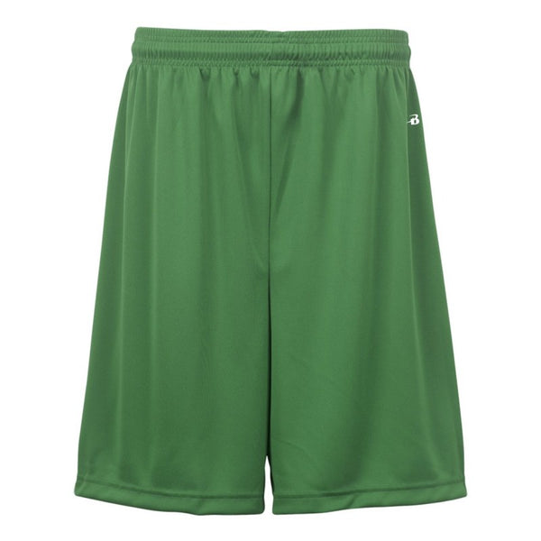"Badger 2107 B-Core Youth 6"" Short - Kelly - Basketball, Lacrosse/Field Hockey, Fanwear, Training/Running, Fanwear - Hit A Double"