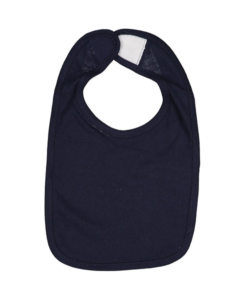 Rabbit Skins 1005 Infant Premium Jersey Bib - Navy