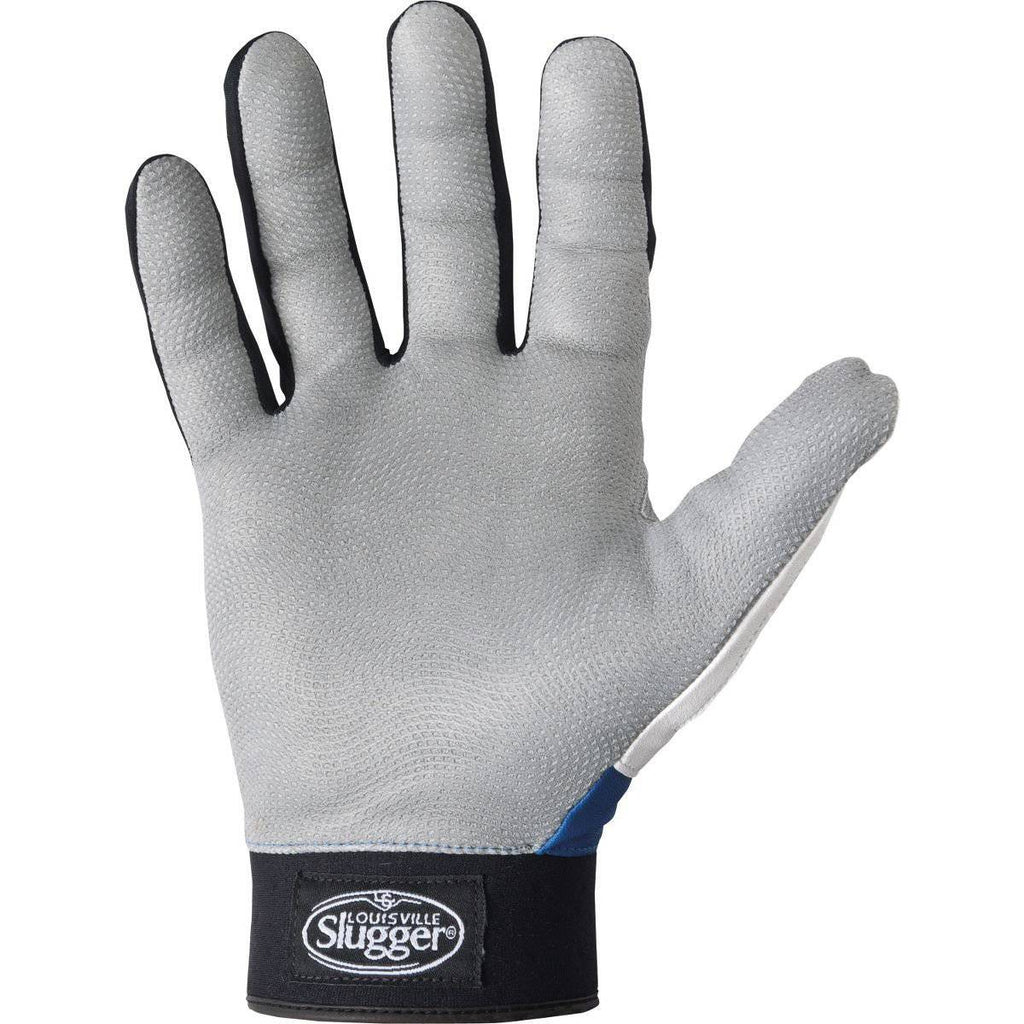 Louisville Slugger Series 7 Adult Batting Gloves - White White - HIT A Double