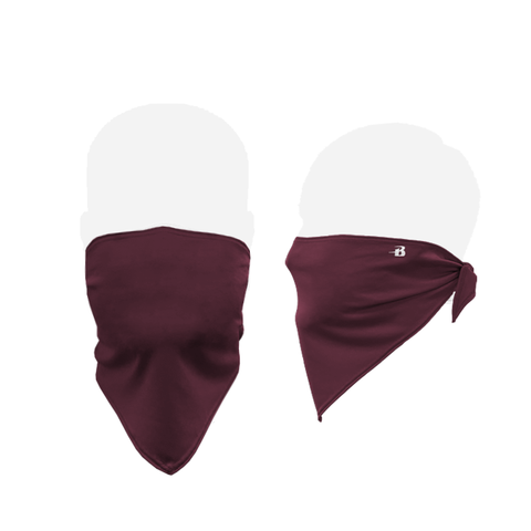 Badger 1919 B-Core Face Bandana - Maroon - HIT A Double