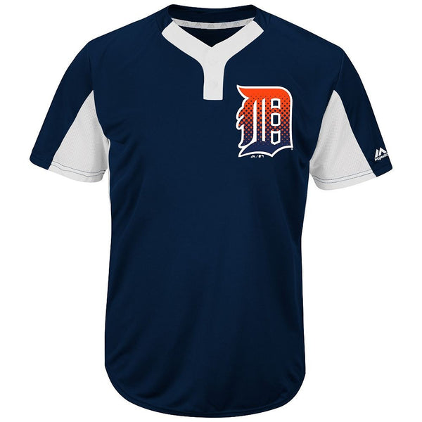 Majestic IY83-I383 MLB Premier Eagle 2-Button Jersey - Detroit Tigers